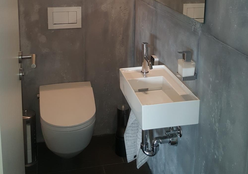 Betonoptik WC REFH Geroldswil