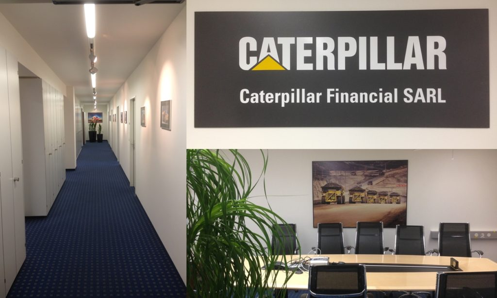 Renovation Office Headquarter Caterpillar Zürich