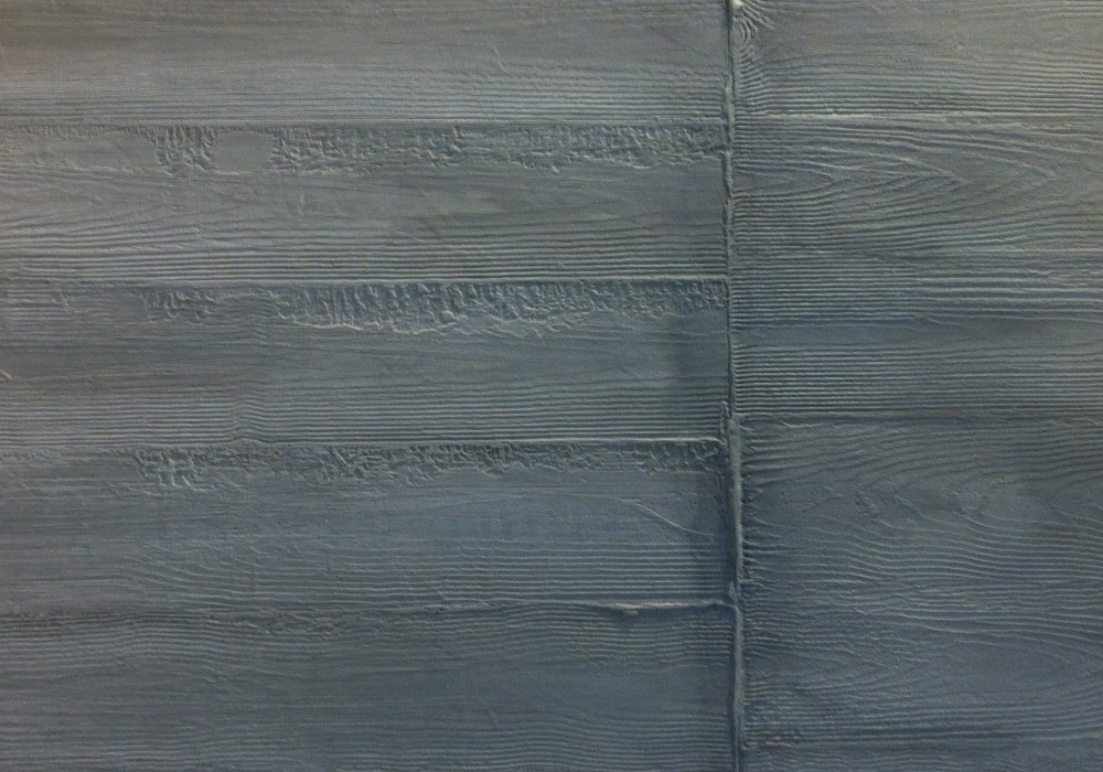 Betonoptik Holzfaserung-Schaltafelung