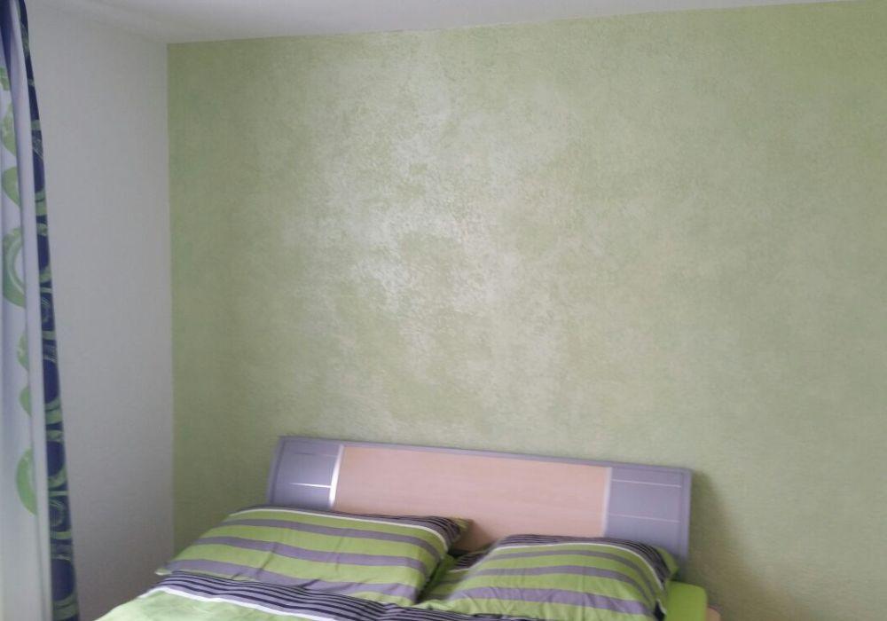 SWAHILI senegal-green, Schlafzimmer Wand REFH Dietikon