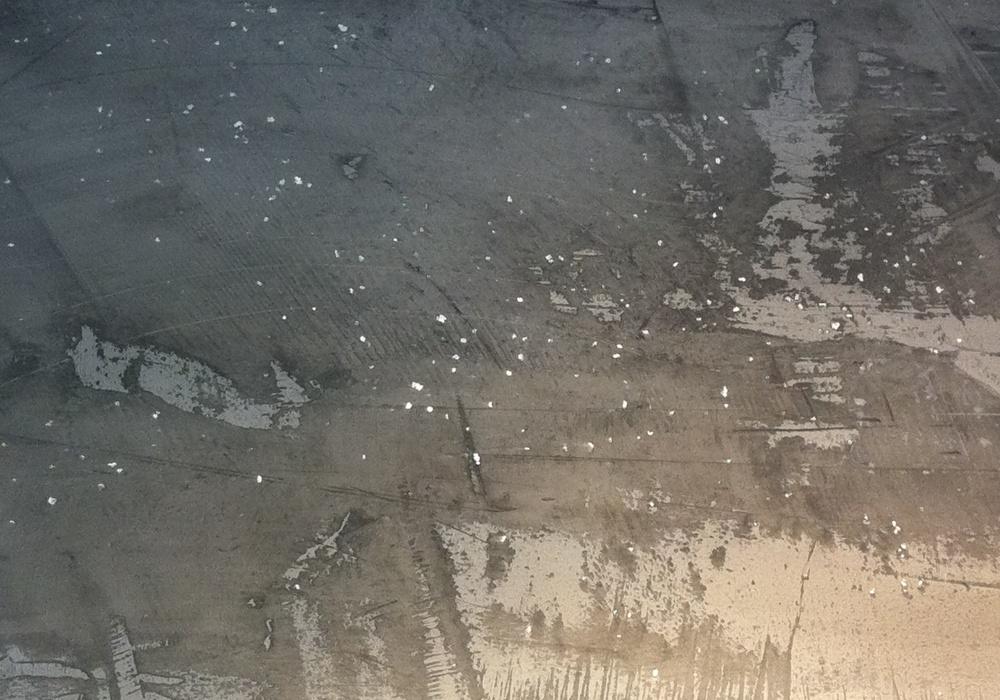 SP dunkelgrau mit Glimmersteine