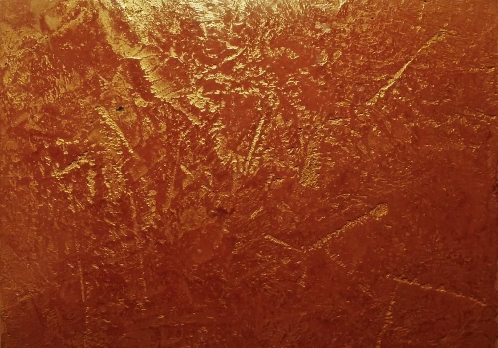 SP rot mit Balsam und Goldlasur